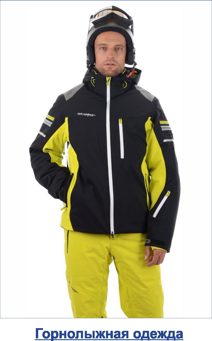 горнолыжная одежда мужская
